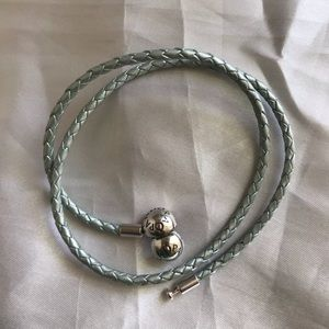 Pandora double wrap leather